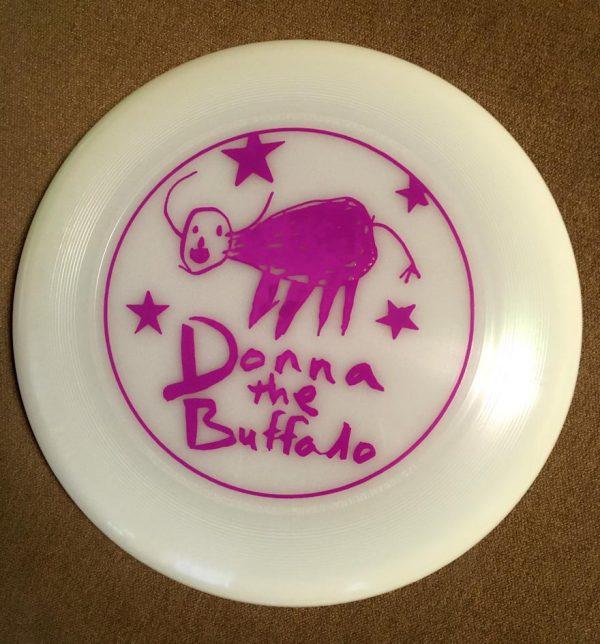 Donna The Buffalo Frisbee