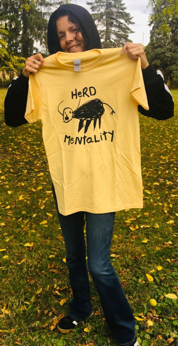 Herd Mentality Donna The Buffalo Shirt