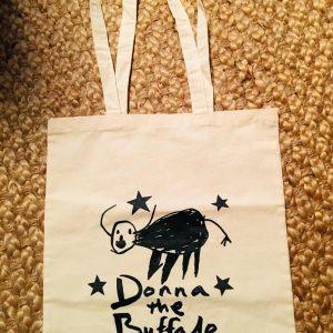 Donna The Buffalo Tote Bag